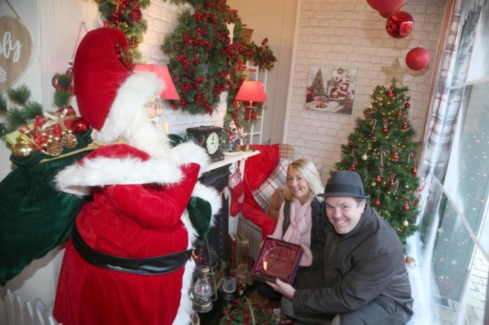 Winners announced in Christmas window competition