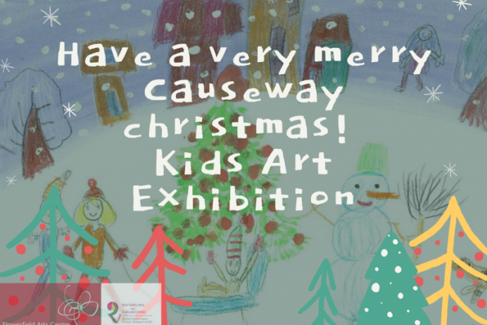 Flowerfield Arts Centre & Roe Valley Arts and Cultural Centre launch Christmas card art competition