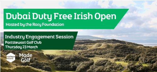 Industry Engagement event ahead of the Dubai Duty Free Irish Open