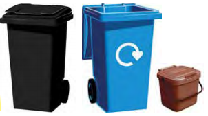 Bin collection and recycling calendars for your area