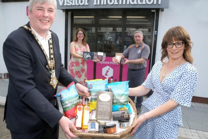 Enjoy a taste of local produce at Causeway Coast and Glens Visitor Information Centres