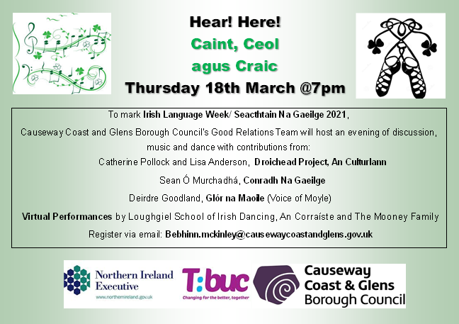 Irish Language Week event