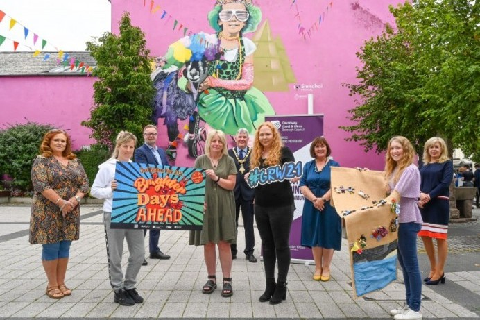 Local Groups celebrate 'Brighter Days Ahead' for Young People as part of Good Relations Week 2021