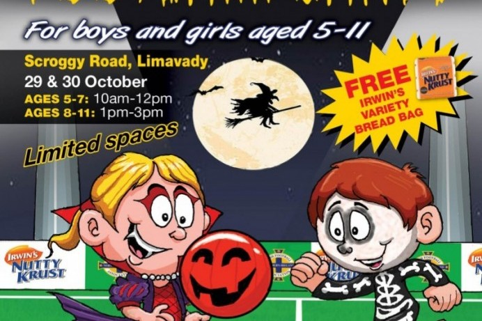Council partners with Irish FA for Halloween Soccer Camp