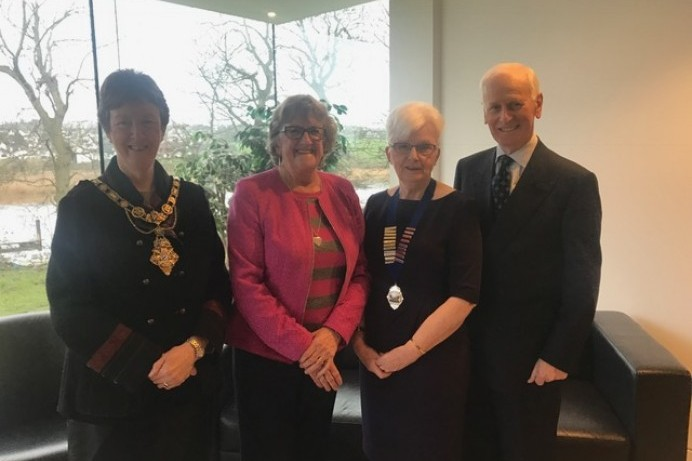 Mayor's Reception for new High Sheriff