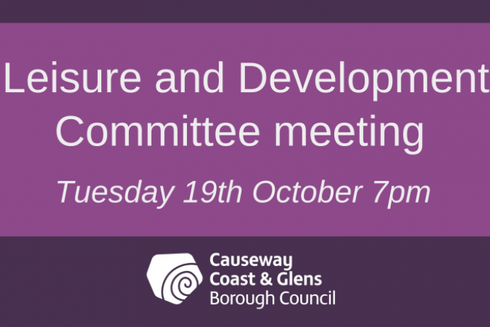 Leisure and Development Committee meeting