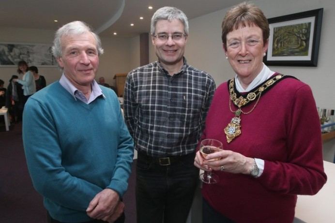 Mayor's reception held for Royal Air Forces Association Causeway Coast Branch