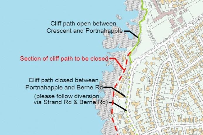 Path upgrade works at Port-na-Happle, Portstewart