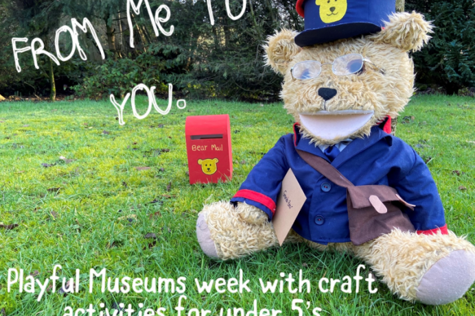 Playful Museums Week virtual fun for Under 5's