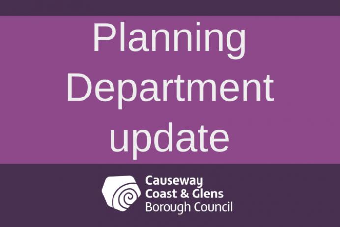 Planning Department update