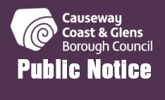 NOTICE OF WORKS TO NORTH PIER STRUCTURE AT PORTRUSH HARBOUR
