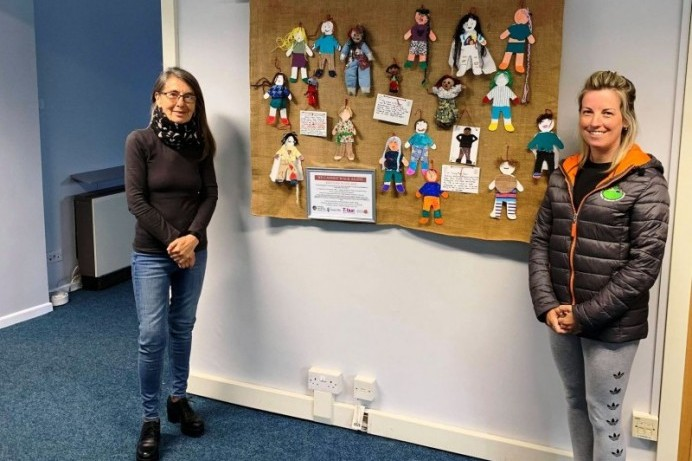 Collective Textile project by Council's Good Relations team reminds us 'We Cannot Walk Alone'