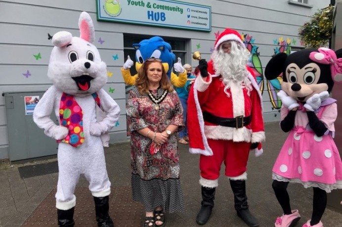 Deputy Mayor joins Thank You Day event in Limavady