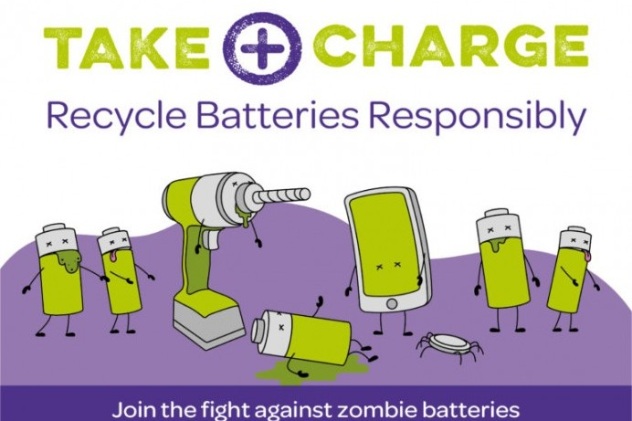Causeway Coast and Glens Borough Council joins campaign to tackle dangers posed by Zombie Batteries