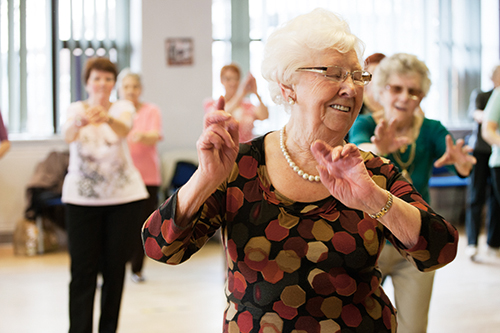 Music and dance event for older people at Roe Valley Arts & Cultural Centre