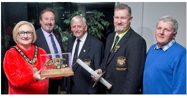 Civic reception for Ploughing World Champion