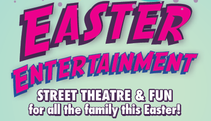 Easter line up of entertainment at Causeway Coast and Glens!