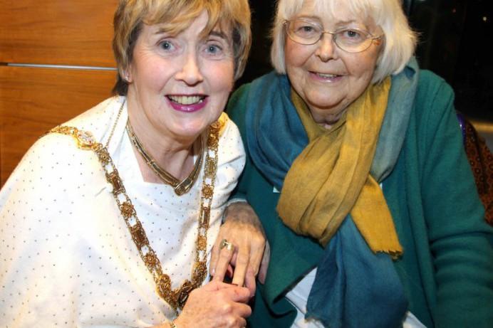 Mayor's reception held for Carol Hutton