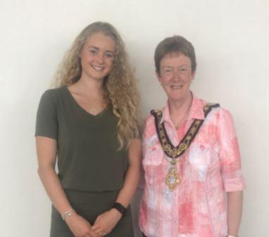 Mayor's Reception for local rower Hannah Scott