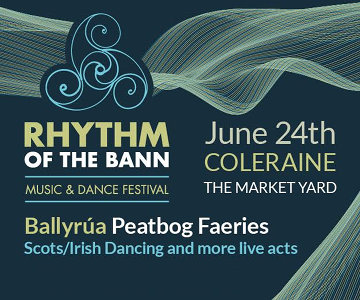 Rhythm of the Bann 'bringing it all back home' to Coleraine