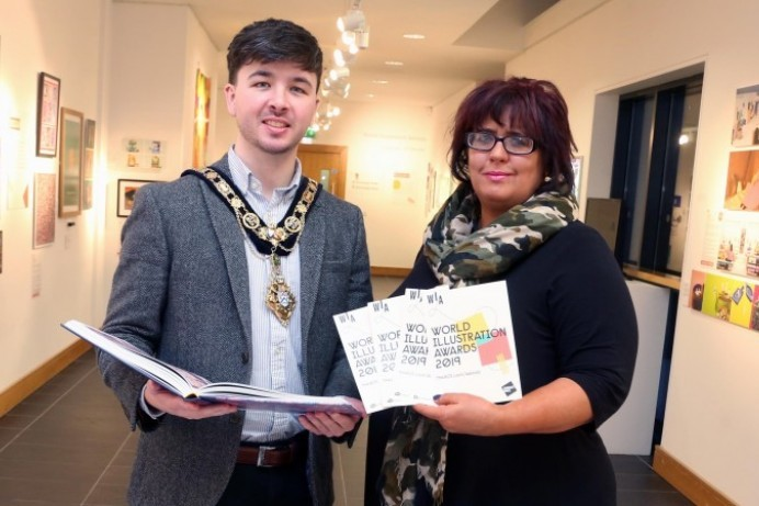 Mayor's praise for World Illustration Awards exhibition