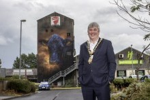 Street art sets the scene for renewed town centre vibrancy in Causeway Coast and Glens