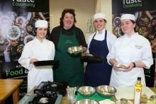 Chefs enjoy a Brilliant Breakfast workshop with Paula McIntyre MBE