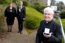 Three centenarians receive special civic gift from Causeway Coast and Glens Borough Council
