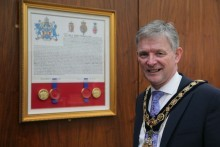 Presentation of Coat of Arms marks civic milestone for Causeway Coast and Glens Borough Council