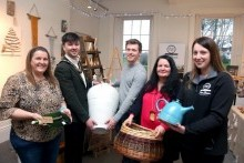 Mayor enjoys a visit to Flowerfield Christmas Craft Market