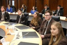 Chamber question time for local school pupils