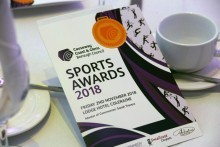 Sporting stars in the spotlight at gala awards evening