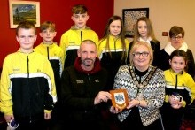 Mayor's reception for Limavady Titans