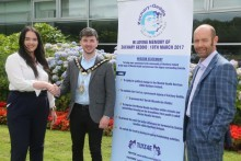 Mayor's Coffee Morning marks new campaign by The Zachary Geddis Break The Silence Trust