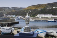 The iconic Claret Jug's tour across the Causeway Coast and Glens
