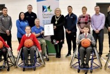 Dungiven Sports Centre receives first 'Inclusive Sports Facility Excellence Award'