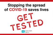 Mayor of Causeway Coast and Glens Borough Council supports enhanced COVID-19 testing in Ballymoney